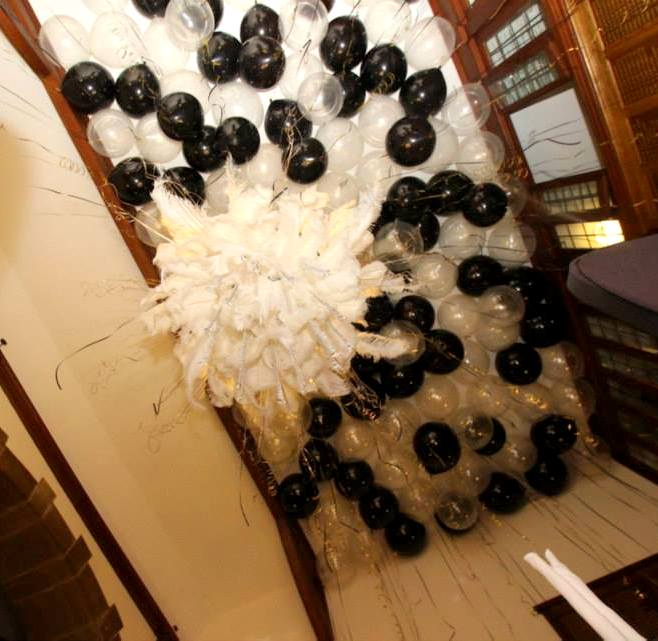 1920s party balloons