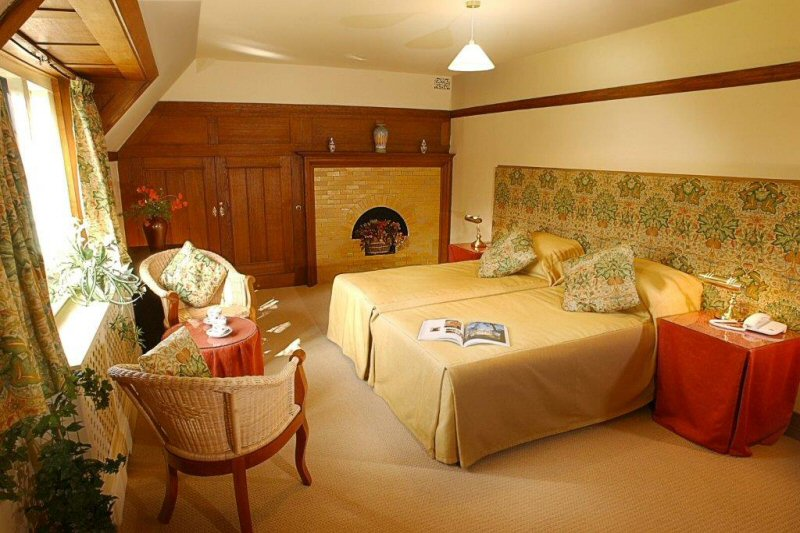 Bedrooms at Broad Leys cumbria