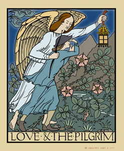 Love and the Pilgrim by Voysey