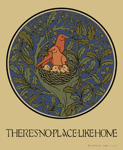 No place like home by Voysey