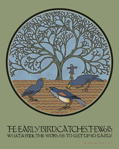 The Early Bird by Voysey
