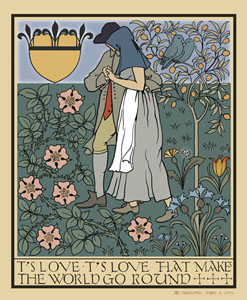 Tis love by Voysey