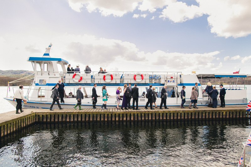 Why not charter a lakeland cruiser for after the ceremony