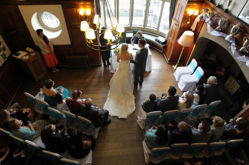 The hall is licensed for wedding ceremonies